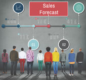 Sales Forecast Strategy Planning Vision Marketing Concept Stock Photos