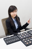 Sales girl Stock Photography