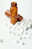Sales homeopáticas del tejido Fotos de archivo