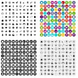 100 sales icons set vector variant. 100 sales icons set vector in 4 variant for any web design isolated on white Stock Illustration
