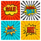Sales icons vector set Stock Photography
