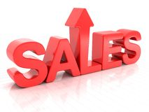 Sales increase Stock Photo