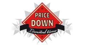 Sales label Stock Photos