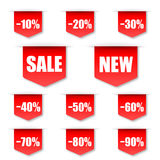 Sales Label Royalty Free Stock Images