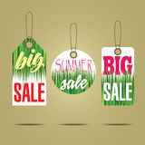 Sales labels Stock Photography