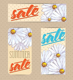 Sales labels. Set of badges for using in different spheres Royalty Free Stock Images