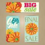 Sales labels Royalty Free Stock Image