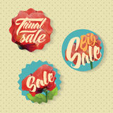 Sales labels Stock Image