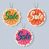Sales labels. Set of badges for using in different spheres Stock Photo