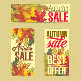 Sales labels. Set of badges for using in different spheres Royalty Free Stock Photography