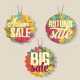 Sales labels Stock Photos