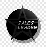 Sales leader icon Stock Images