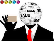 Sales man Royalty Free Stock Photo