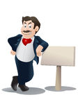 Sales man Royalty Free Stock Images