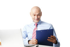 Sales man portrait Royalty Free Stock Photography