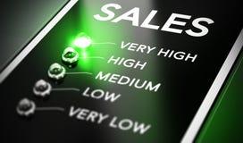 Sales Management stock illustration