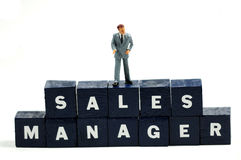 Sales manager Stock Photography