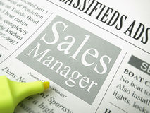 Sales Manager Stock Images