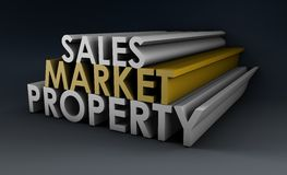 Sales Market Property Royalty Free Stock Photography