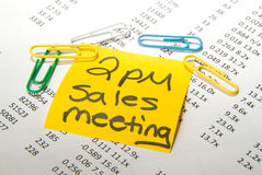 Sales Meeting! Royalty Free Stock Photography
