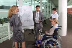 Sales objectives meeting Stock Photography