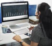 Sales Order Dashboard Statistics Concept Stock Image