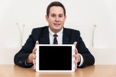 Sales pitch presentation office Stock Photo