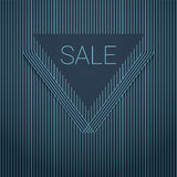 Sales poster design. Elegant luxurious background Royalty Free Stock Photography