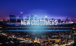 Sales. Product market choose business traffic base stock image