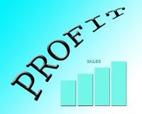 Sales profit Stock Images