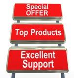 Sales promotion royalty free illustration