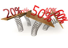 Sales and promotion concept Stock Photo