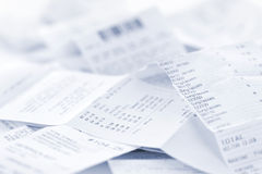 Free Sales Receipts Royalty Free Stock Image - 20852686