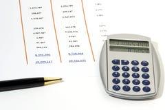 Sales Report Stock Image