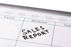 Sales report meeting Stock Image