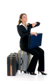 Sales representative, traveler Royalty Free Stock Image