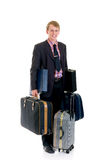 Sales representative, traveler Royalty Free Stock Images