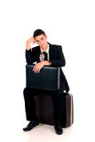 Sales representative, traveler Royalty Free Stock Photo
