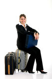 Sales representative, traveler Royalty Free Stock Photo