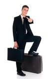 Sales representative, traveller Royalty Free Stock Photography