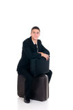 Sales representative, traveller Stock Photo