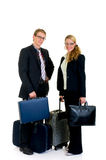 Sales representatives, travelers Royalty Free Stock Photo