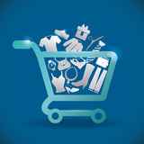 Sales and retail. Design, illustration eps10 graphic royalty free illustration