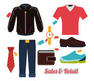 Sales and retail Stock Photo