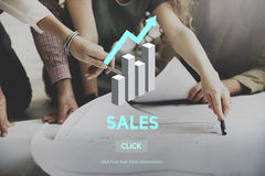 Sales Sell Selling Commerce Costs Profit Retail Concept stock photos