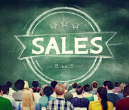 Sales Selling Discount Commerce Marketing Concept Stock Photo