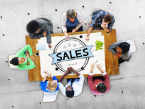 Sales Selling Discount Commerce Marketing Concept Stock Photography