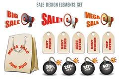 Sales set Stock Images