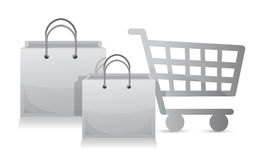 Sales shopping cart concept Stock Photo