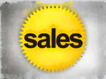 Sales sign Royalty Free Stock Photos
